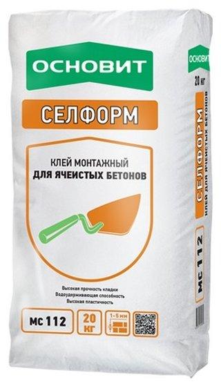Строительная смесь Основит Селформ МС112