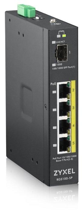 Коммутатор ZYXEL RGS100-5P