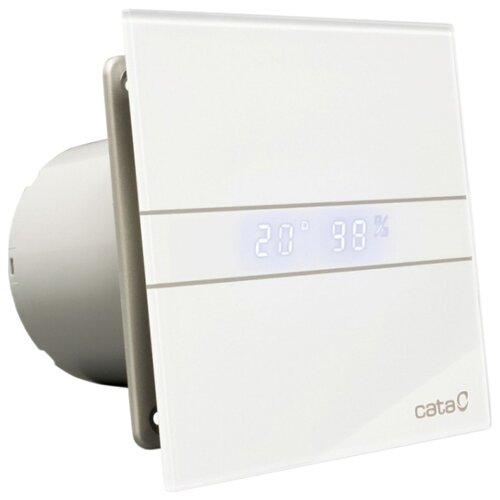 Вытяжной вентилятор CATA E-100 GTH, белый 8 Вт