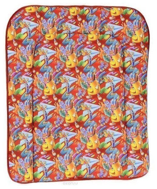 Фея Накладка для пеленания мягкая на комод 60x70 Голубой