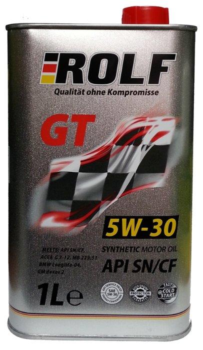 Моторное масло ROLF GT 5W-30 SN/CF 1 л