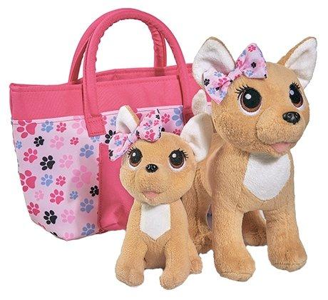 Набор мягких игрушек Simba Chi chi love Счастливая семья 20 см
