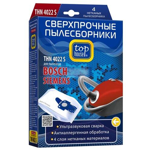 цена на Top House Пылесборники THN 4022 S белый 4 шт.