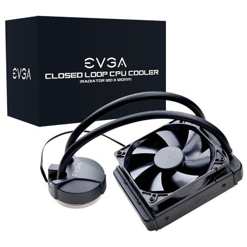 Система водяного охлаждения для процессора EVGA CLC 120 CL11 блок питания evga supernova