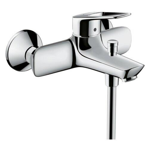Смеситель для ванны с подключением душа hansgrohe Novus Loop 71340000 однорычажный смеситель для ванны hansgrohe novus loop 71340000