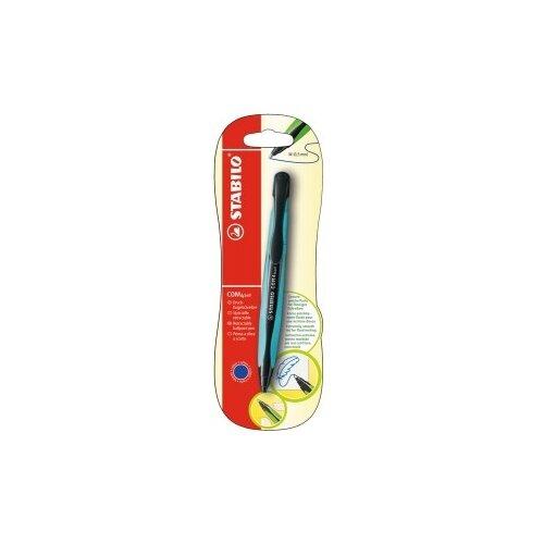 Купить STABILO Ручка шариковая COM4ball 0.5 мм в блистере, синий цвет чернил, Ручки