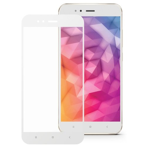 Защитное стекло Mobius 3D Full Cover Premium Tempered Glass для Xiaomi Mi A1 белый защитное стекло mobius 3d full cover premium tempered glass для xiaomi mi 9 черный