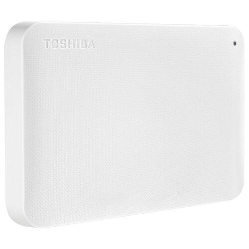 Фото - Внешний HDD Toshiba Canvio Ready 1 ТБ белый внешний hdd lacie mirror 1tb 1 тб