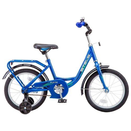 """Детский велосипед STELS Flyte 16 Z011 (2018) синий 11"""" (требует финальной сборки)"""