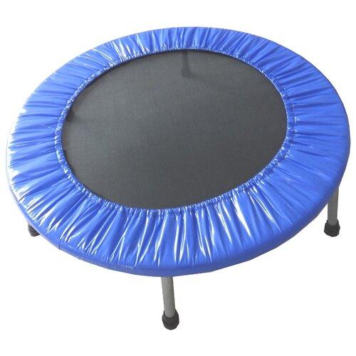 Каркасный батут ECOS BT4-1 101х101х23 см синий/черный