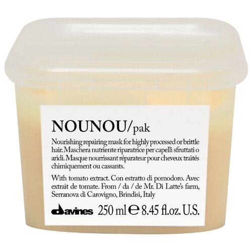 Davines Essential Haircare Nounou Интенсивная восстанавливающая маска для глубокого питания волос для волос и кожи головы, 250 мл