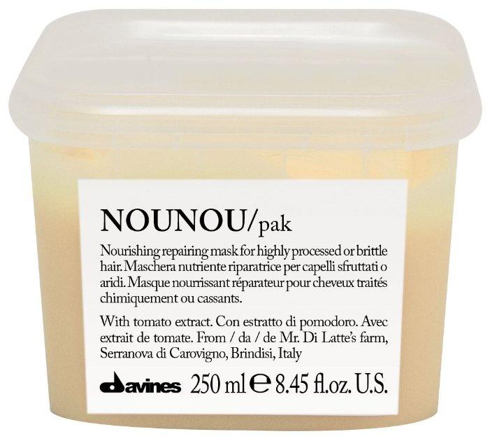 Davines Essential Haircare Nounou Интенсивная восстанавливающая маска для глубокого питания волос для волос и кожи головы
