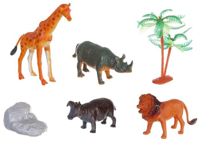 Фигурки BONDIBON Ребятам о зверятах - Животные Земли ВВ1640