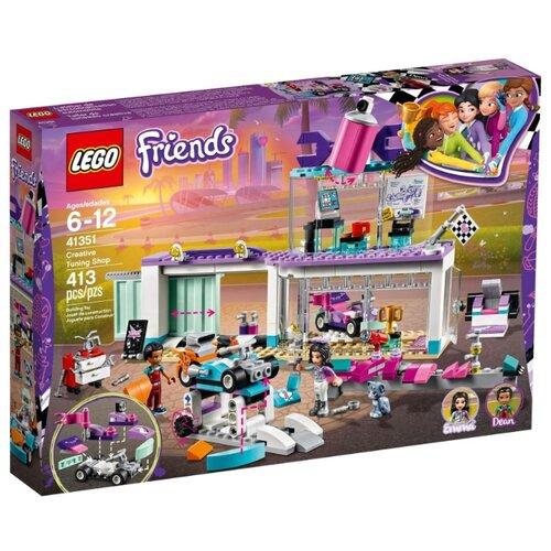 Конструктор LEGO Friends 41351 Мастерская по тюнингу автомобилейКонструкторы<br>