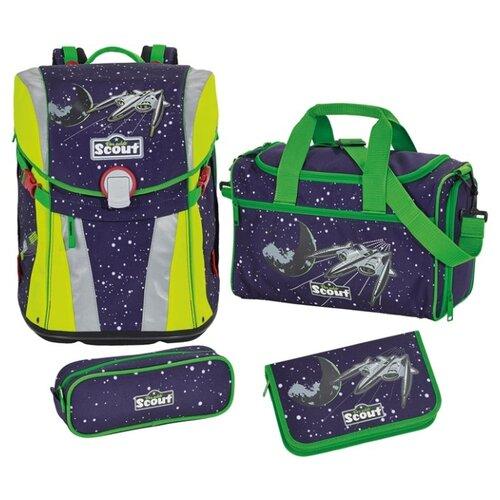 Купить Scout Ранец с наполнением SUNNY, space, Рюкзаки, ранцы