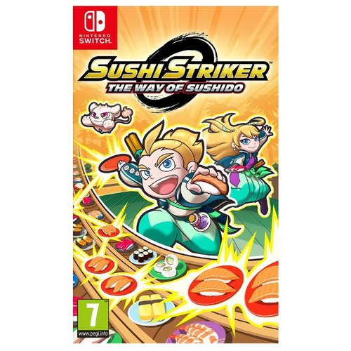 Игра для Nintendo Switch Sushi Striker: The Way of Sushido игра для nintendo switch zumba burn it up