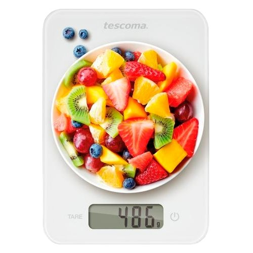 Кухонные весы Tescoma 634512 белый кухонные весы tescoma accura 634512