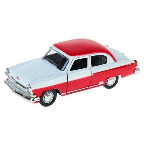 Купить Легковой автомобиль Autogrand ГАЗ-21 Волга двухцветная (34101) 1:43 11 см белый/красный, Машинки и техника