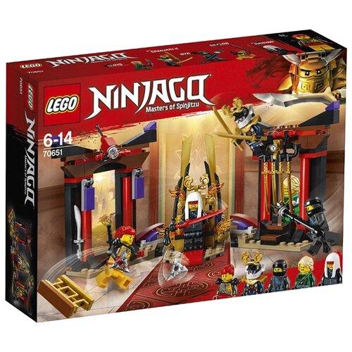 Купить Конструктор LEGO Ninjago 70651 Решающий бой в тронном зале, Конструкторы
