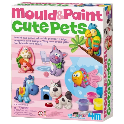 4M Mould and Paint - Cute Pets (00-03539)
