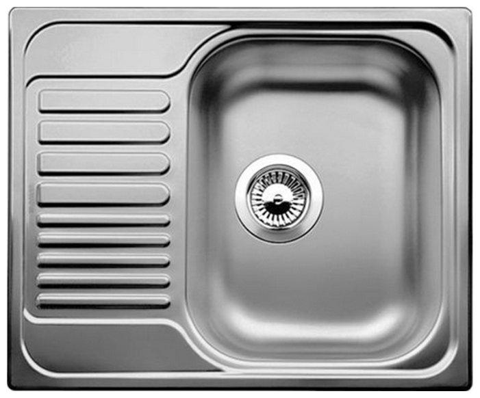 Врезная кухонная мойка Blanco Tipo 45S Mini 60.5х50см нержавеющая сталь