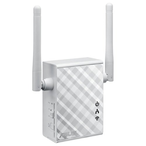 Wi-Fi усилитель сигнала (репитер) ASUS RP-N12 серый wi fi адаптер asus usb ac56