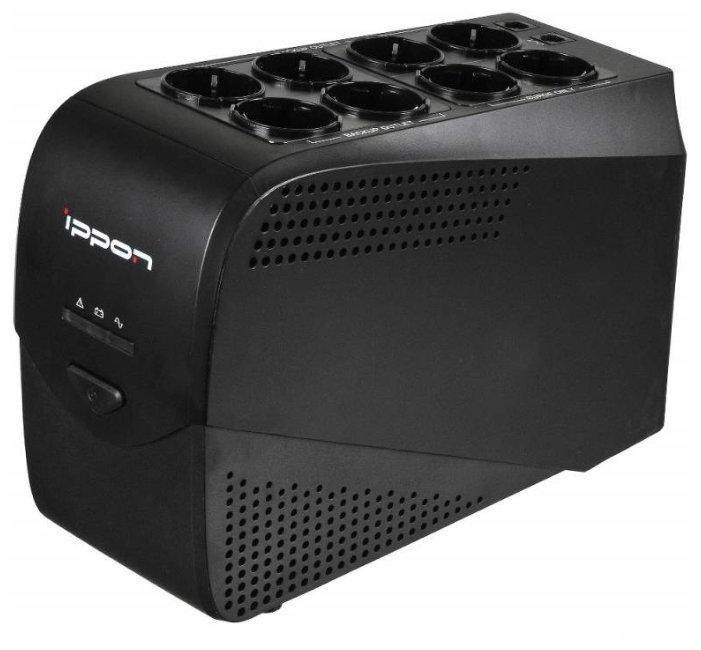 Источник бесперебойного питания Ippon Back Comfo Pro 1000 Black 403089