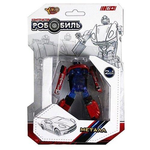 Купить Трансформер Yako РобоБиль M6696 сине-красный, Роботы и трансформеры