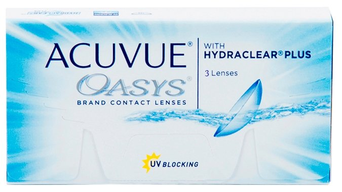 Acuvue OASYS with Hydraclear Plus (3 линзы)