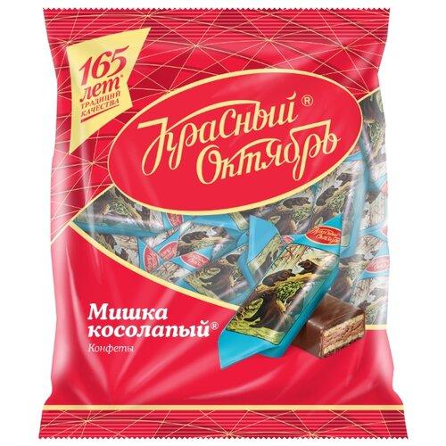 Конфеты Красный Октябрь Мишка косолапый, пакет 200 г конфеты красный октябрь маска пакет 500 г