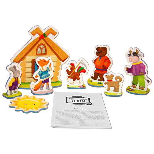 Купить Десятое королевство Театр настольный кукольный Зайкина избушка (01367), Кукольный театр