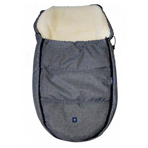 Купить Конверт-мешок Womar S82 Exclusive в коляску 95 см серый, Конверты и спальные мешки