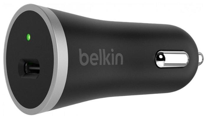 Автомобильная зарядка Belkin F7U005bt04-BLK