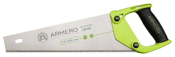 Ножовка по дереву Armero A534/350 350 мм