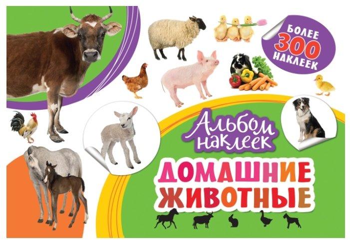 РОСМЭН Альбом наклеек Домашние животные (33088)