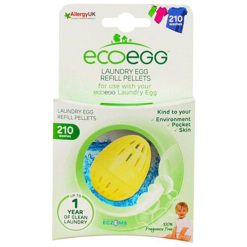 Ecoegg сменные гранулы для шаров для стирки Без запаха (наполнитель), картонная пачка, количество стирок: 210