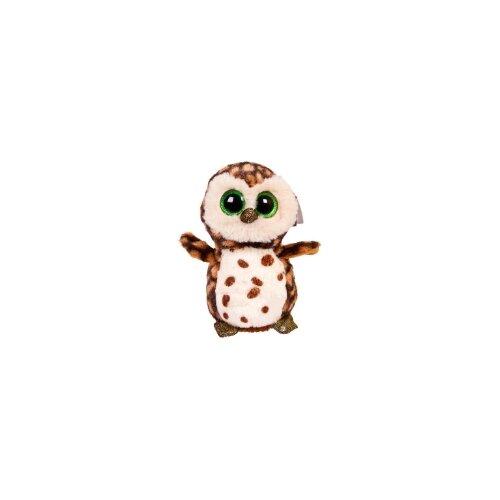 Мягкая игрушка Chuzhou Greenery Toys Совенок коричневый, 15 см