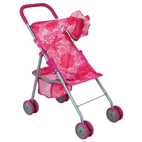 Прогулочная коляска Buggy Boom Mixy (8006) розовый/цветы buggy boom коляска для кукол buggy boom infinia трансформер салатовая