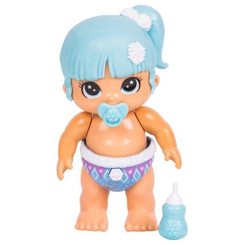 Купить Интерактивная кукла Moose Bizzy Bubs Снежный Лучик, 12 см, 28470, Куклы и пупсы