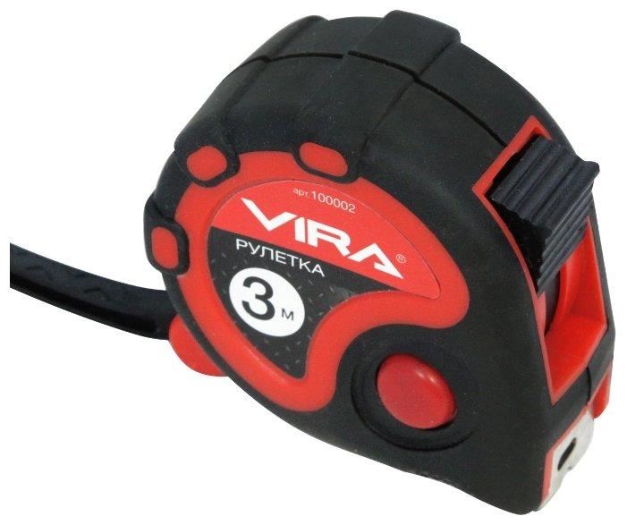 Рулетка Vira 100002 19 мм x 3 м