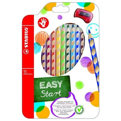 Купить STABILO Цветные карандаши EASY colors 12 цветов (332/12)