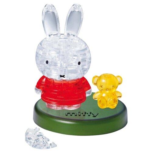Пазл Crystal Puzzle Миффи и медвежонок (90143) 38 дет..