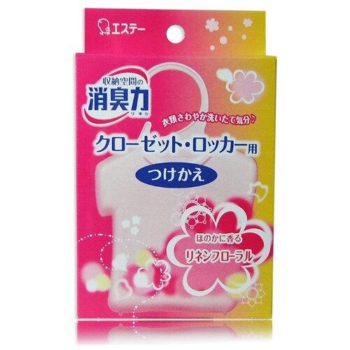 Shoushuuriki Запасной блок освежителя воздуха для шкафов на основе желе-сенсора с цветочным ароматом 32 гОсвежители воздуха<br>