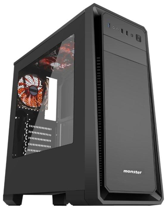 3Cott Компьютерный корпус 3Cott Monster I w/o PSU Black