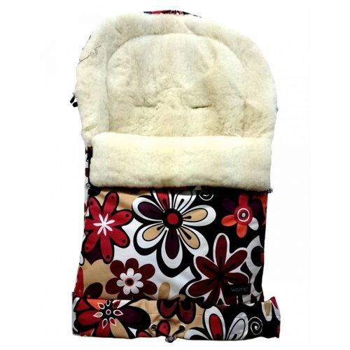 Конверт-мешок Womar Multi Arctic в коляску 83 см 18 цветки конверт мешок womar multi arctic в коляску 83 см 11 графитовый