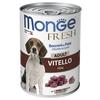 Корм для собак Monge Fresh телятина 400г