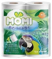 Туалетная бумага Momi белая трёхслойная