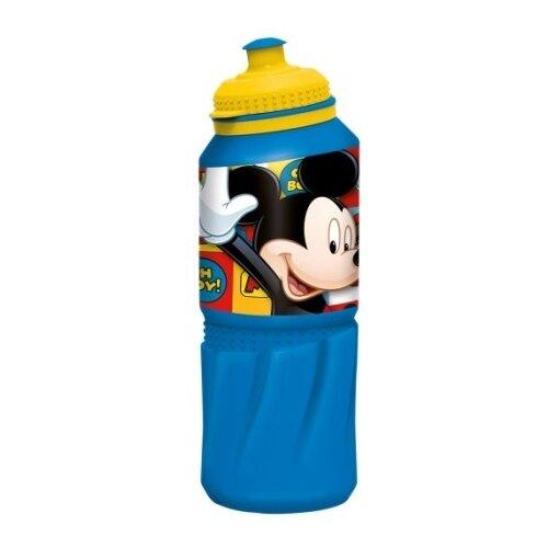 Бутылка для воды, для безалкогольных напитков Stor спортивная 0.53 пластик Микки Маус символы