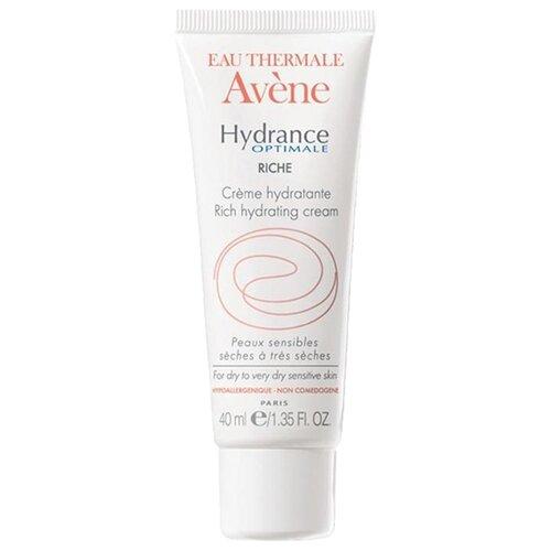 AVENE Hydrance Optimale Riche Увлажняющий крем для сухой кожи лица, 40 мл avene cicalfate крем для лица восстанавливающий целостность кожи 40 мл