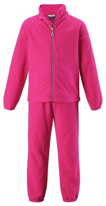 Комплект термобелья кофта/брюки Lassie by Reima цвет: розовый, для девочек, размер 140